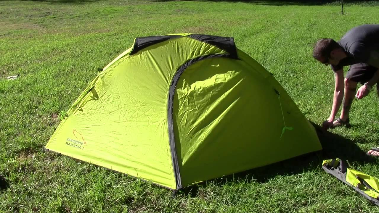 & Peregrine Equipment Radama 1 Solo Tent Gear Review - YouTube