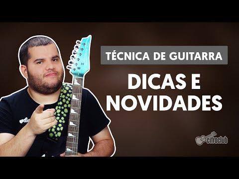 DICAS E NOVIDADES | Licks de guitarra (técnicas de guitarra)