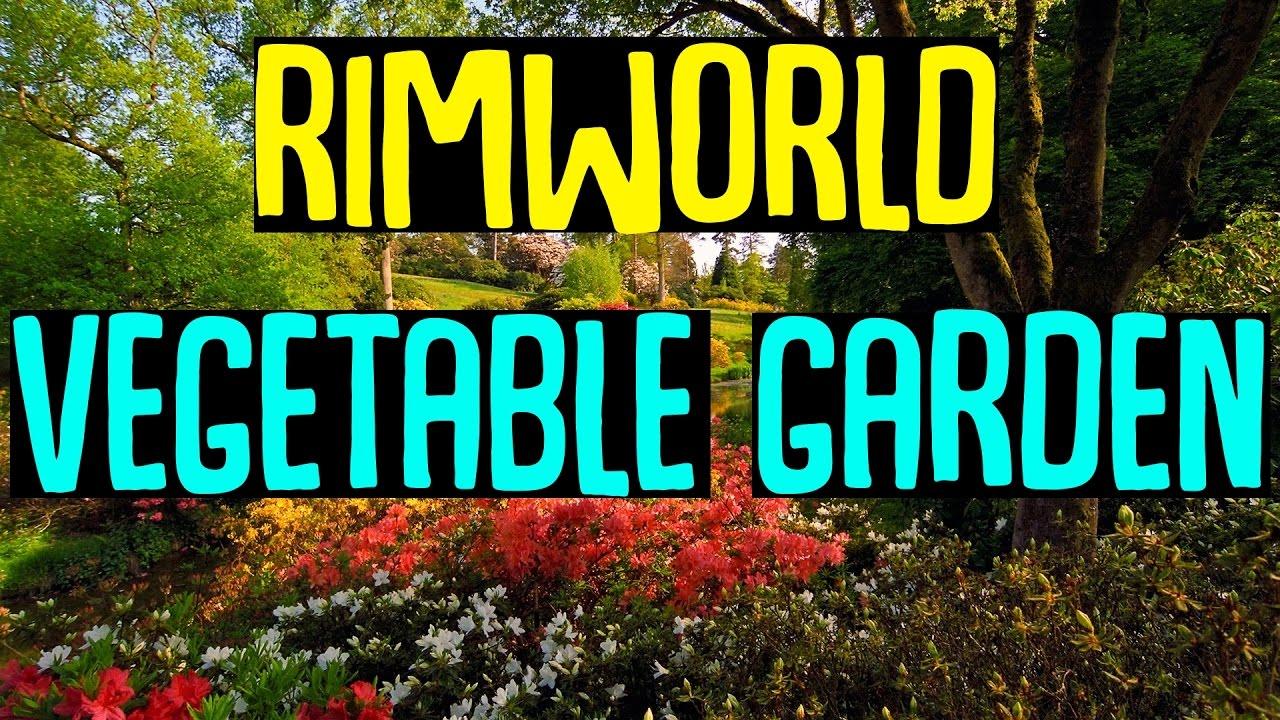 Rimworld Mod Showcase: Vegetable Garden Mod! Rimworld Mod Guide