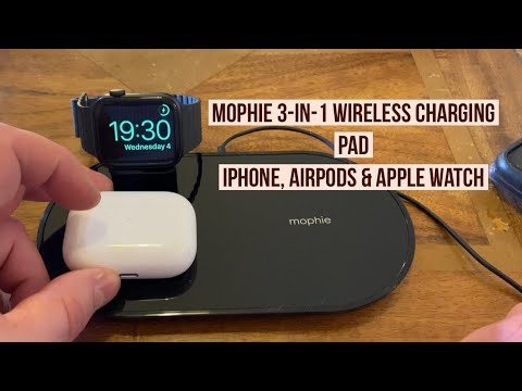 Mophie 3 In 1 Wireless Charger For IPhone, AirPods & Apple Watch - AirPower In 2020!