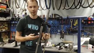 Як обслужити і чим змастити вилку велосипеда.