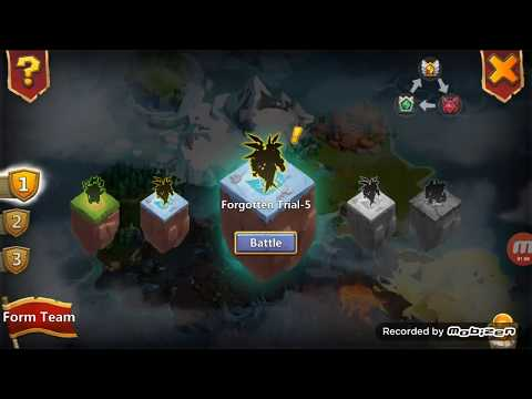Castle Clash New Update August Forgotten Trial 1 To12