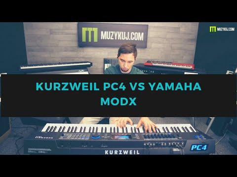 KURZWEIL PC4 VS YAMAHA MODX8