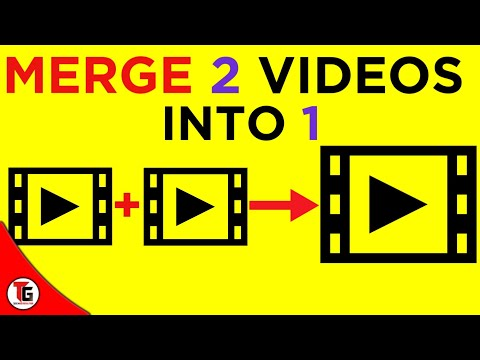 how to merge two videos into one by android in hindi