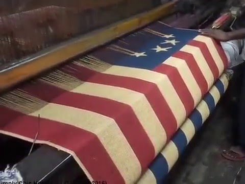 Weaving Fabric On A Power Loom Youtube