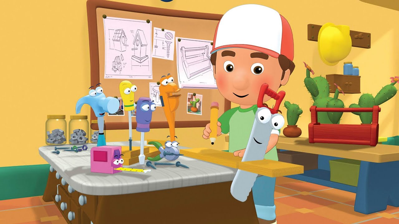 It's just an image of Wild Handy Manny Images