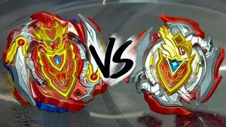 AIGA VS AIGA BATTLE: Cho-Z Achilles .00.Dm VS Z Achilles .11.Xt+ - Beyblade Burst Super Z/Turbo