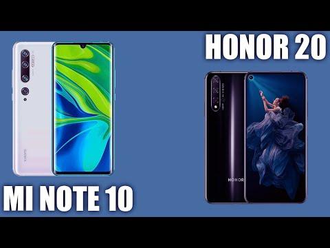 Xiaomi Mi Note 10 Vs Honor 20. 👍 Кто достойнее?