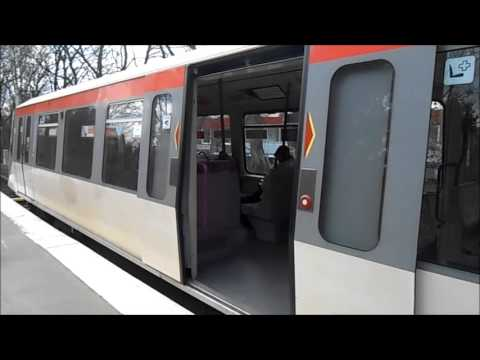 U-Bahn Hamburg - U-Bahnhof Langenhorn Nord U1