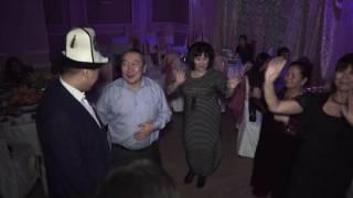Свадьба Эрмек и Элида #2 21-12-2016 Москва Кафе Ыссыккол