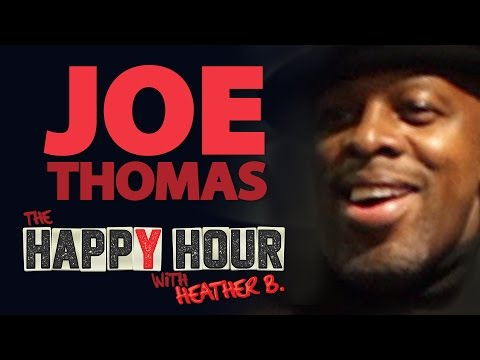 Joe Thomas on THE HAPPY HOUR with HEATHER B.