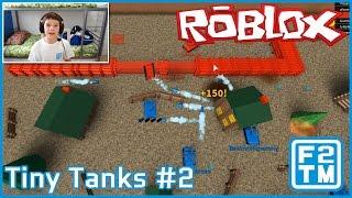 Roblox Tiny Tanks #2 (MVP, HAVING A BLAST!!!)