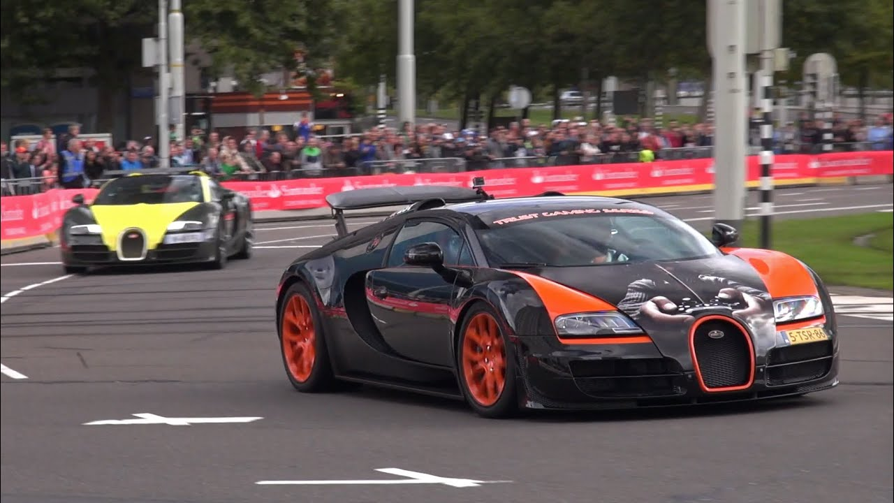 4 x bugatti veyron sounds grand sport 1 of 8 wrc edition gs vitesse youtube. Black Bedroom Furniture Sets. Home Design Ideas