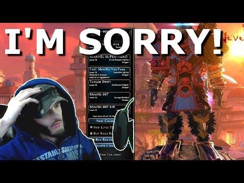 Neverwinter I'M SORRY!