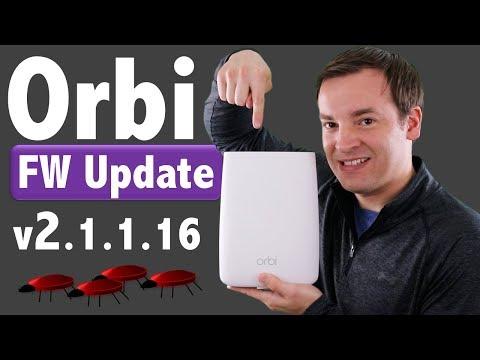 Netgear Orbi Firmware Update v 2 1 1 16 - Small Fixes
