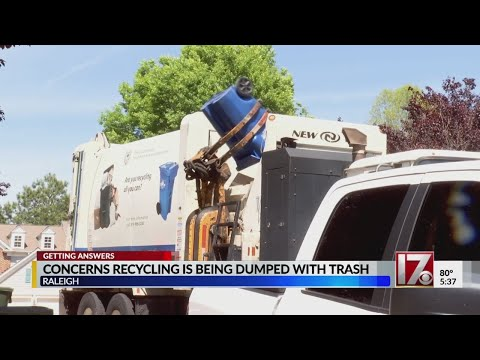 Is Recycling Being Mixed With Trash In Raleigh?