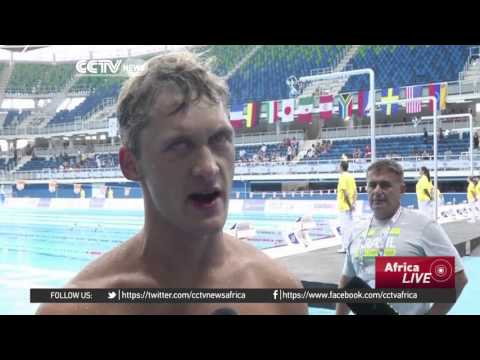 Rio aquatic stadium holds Paralympic swimming test event