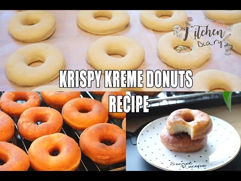 KRISPY KREME DONUTS Copycat RECIPE:: Kitchen Diary by Kaew #4