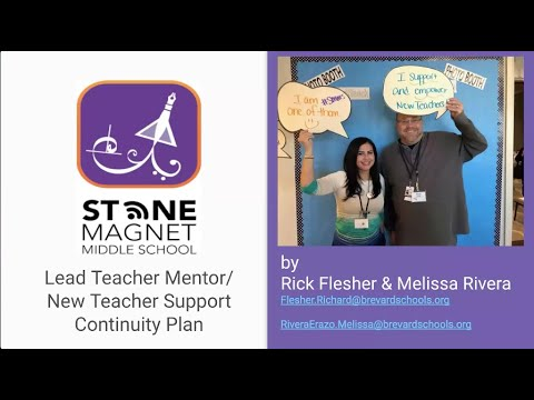 Stone Magnet Middle School-New Teacher Support & Continuity Plan