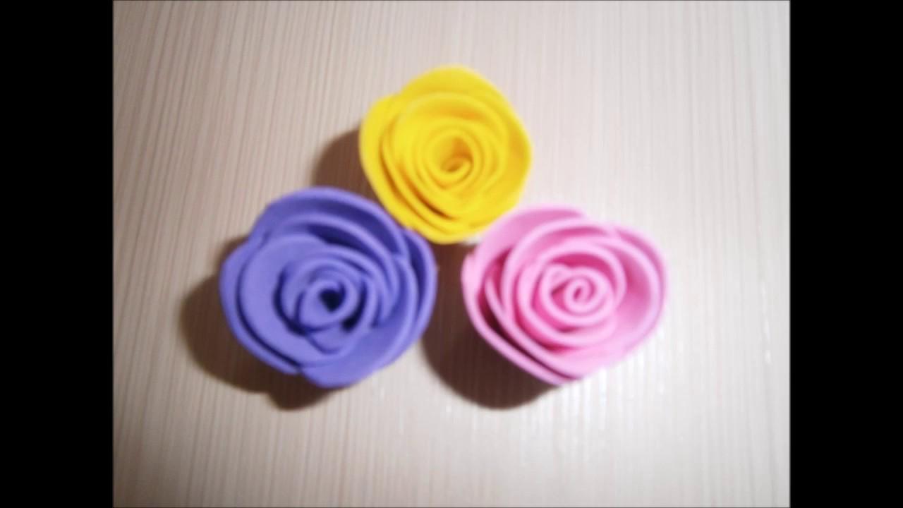Делаем цветы из фоамирана: мастер-класс для начинающих