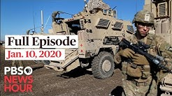 PBS NewsHour West live episode, Jan 10, 2020