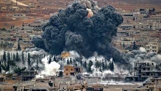 Бои с террором в Сирии и Ираке.