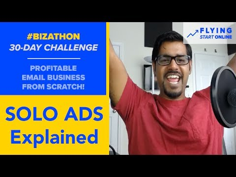 How To Buy Solo Ad Traffic For An Email Business - (Day 11/3