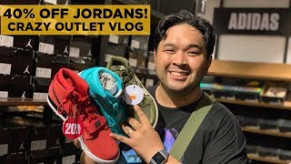 NIKE, JORDAN OUTLET SHOPPING IN THE PHILIPPINES! (LOTS OF STEALS, 40% OFF JORDAN 3!?)