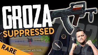 SUPPRESSED CRATE-ONLY WEAPON: The GROZA - PUBG Mobile