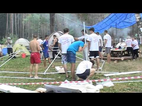 Открытие лагеря Наши Русичи