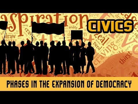 Democracy in the Contemporary World- Phases in the Expansion of Democracy