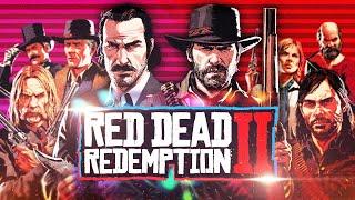 RDR 2: Судьба ВСЕХ 23 важных персонажей после эпилога • История Red Dead Redemption 2