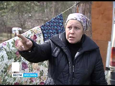 В Заволжском районе Ярославля случился крупный пожар