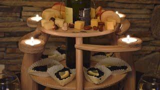 NEW! Valburden stand for wine and fruit Подставка Valburden для вина и фруктов