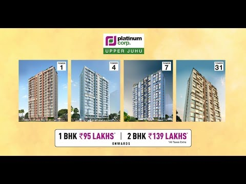 Most Awarded Affordable Housing Projects in Mumbai | Platinum Towers @UpperJuhu
