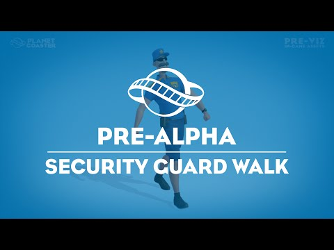 Security Guard - Happy Walk Preview