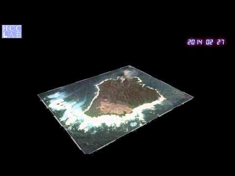 【地図の実験室】VOLCANIC ISLAND NISHINOSHIMA ~西之島~