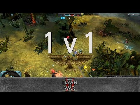 Dawn of War 2: Retribution - 1v1 | Tex [vs] Adila