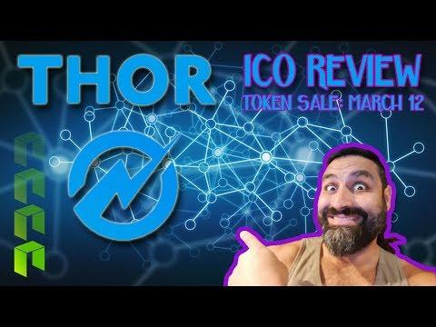 THOR ICO Review | FREE SPREADSHEET | NEO Blockchain