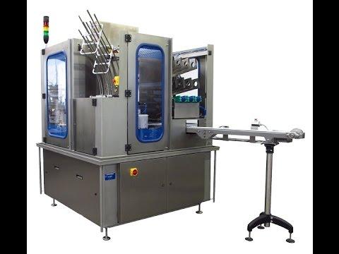 Rotary cupfilling machine SchuCup 7000 RL / Becherfüller 160 ml