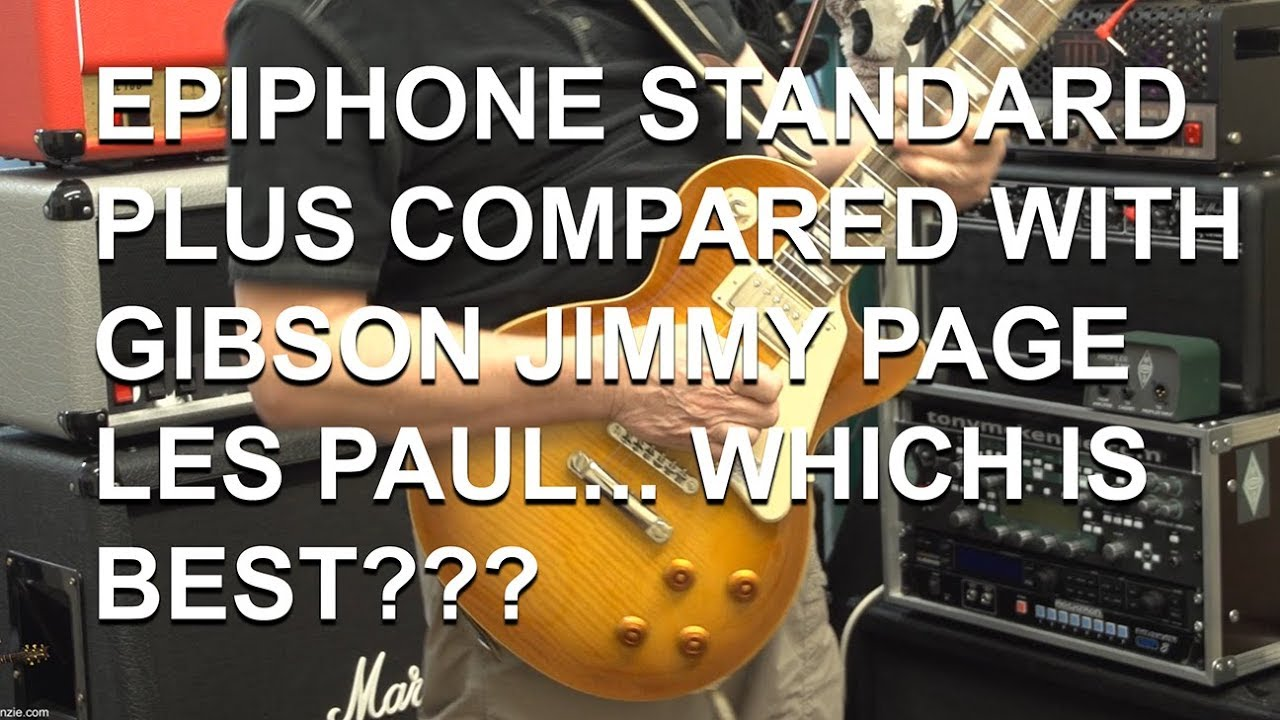 Epiphone Les Paul Standard Plus Top Pro Compared To Gibson Jimmy Custom New Page Wiring Harness Full Review Tonymckenziecom
