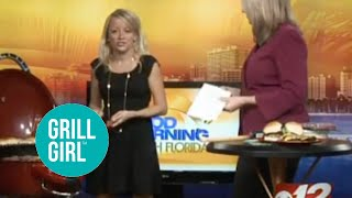 Grill Girl Live On Good Morning South Florida