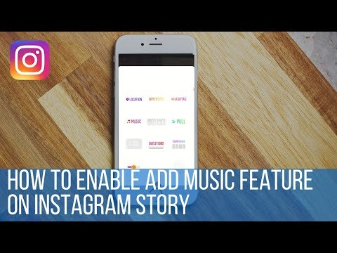 How to enable add music feature on Instagram story Mp3