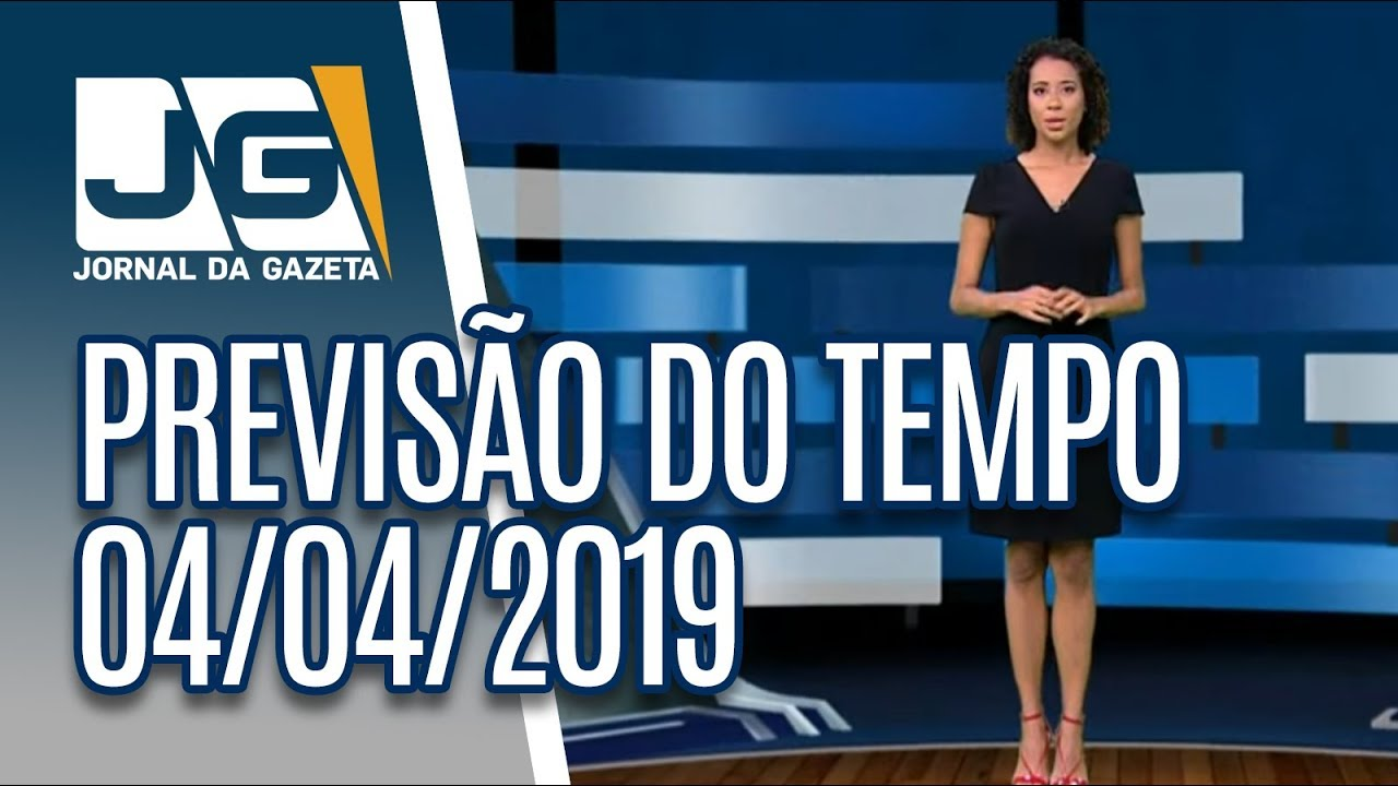 Previsão do Tempo - 04/04/2019 - YouTube