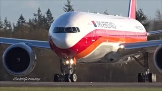 New TAAG Angola Airlines Boeing 777-300ER Performing Double RTO