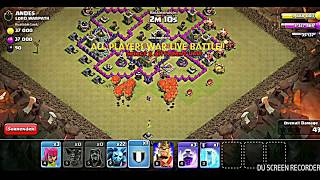 ALL LIVE WAR PLAYERS BATTLES AT THE SAME TIME IN OUR CLAN||CLASH OF CLANS!!