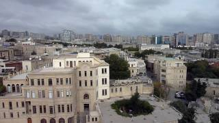Panorama of Baku, Azerbaijan