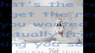 Nicki Minaj- Right Thru Me Lyrics