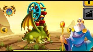 Dragon City - Big Wheel Dragon + Fighting Boss [Freebies Dragon 2017]