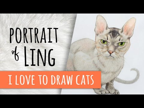 My Very First Video Portrait: Ling